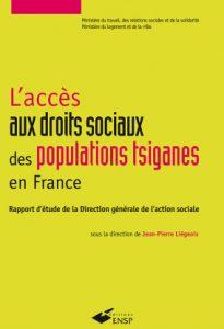 L'accès aux droits sociaux des populations tsiganes en France. Rapport d'étude de la Direction générale de l'action sociale - Jean-Pierre Liégeois